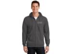 Port & Company® Essential Fleece Full-Zip Hooded Sweatshirt