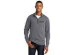 New Era Tri-Blend Fleece 1/4-Zip Pullover