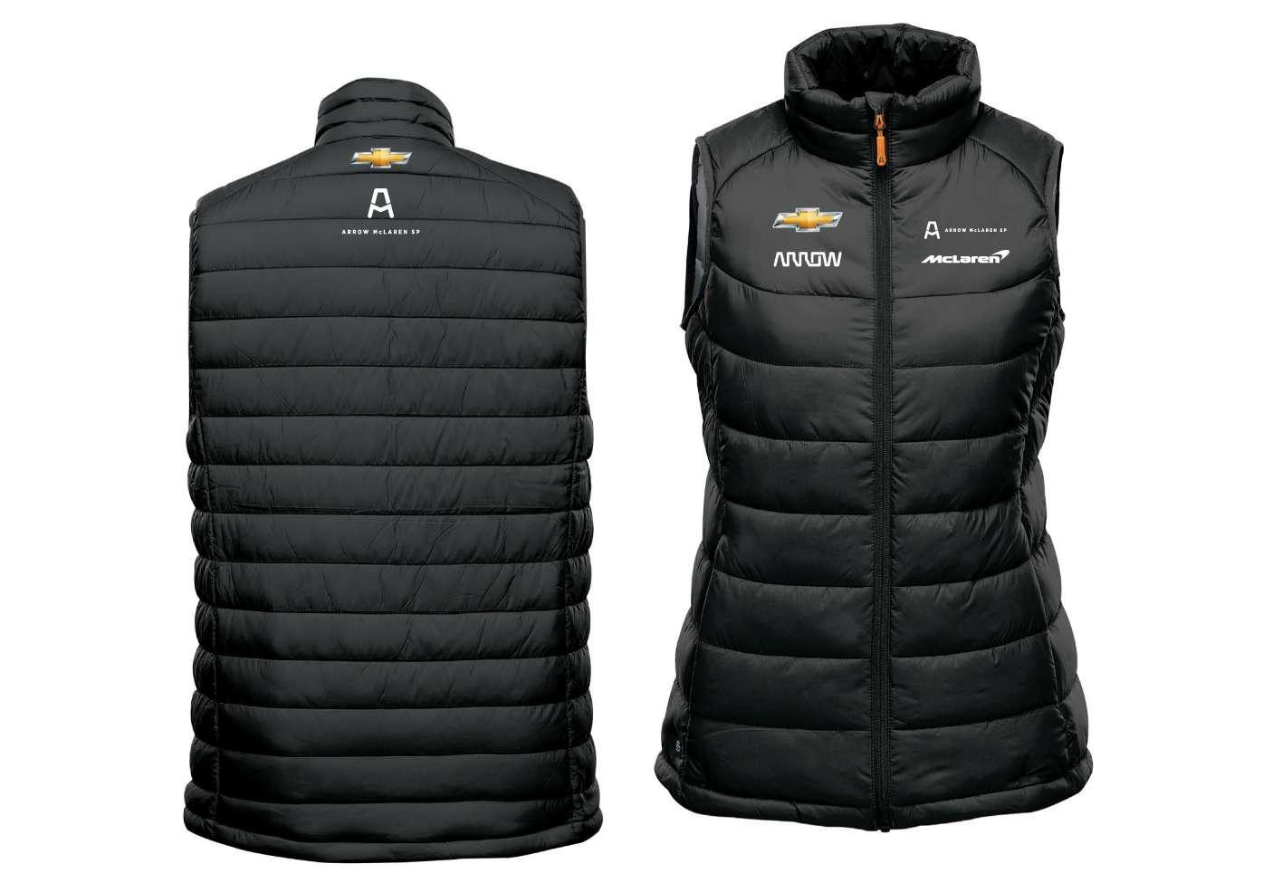 XL Women's Official Team Puffer Vest