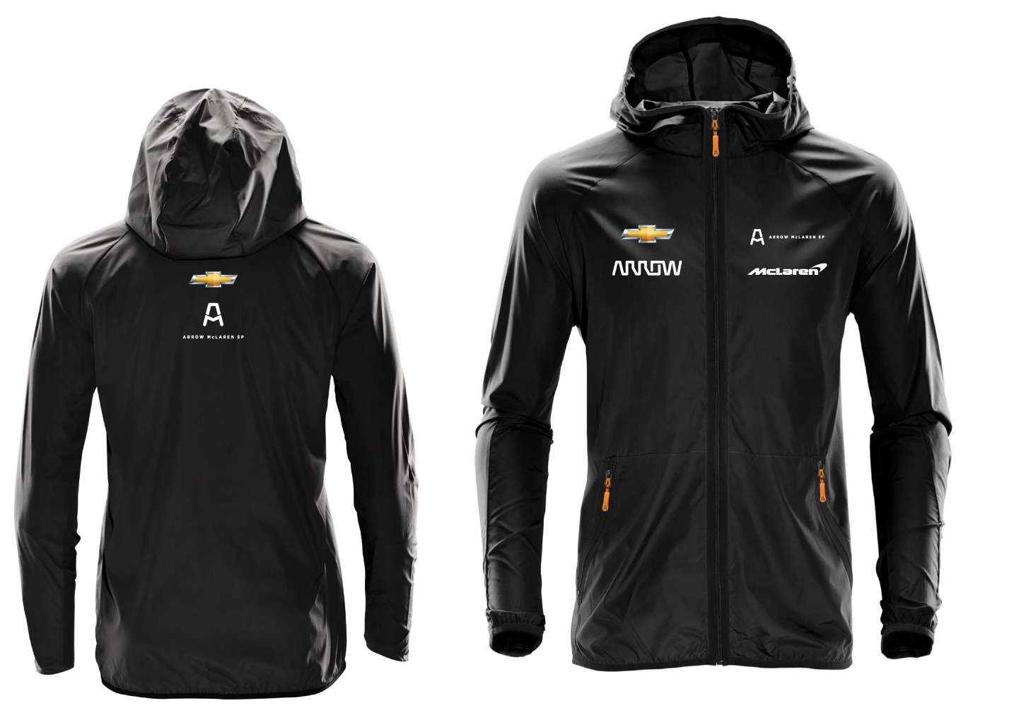 SMALL Men's Official Team Rain Jacket
