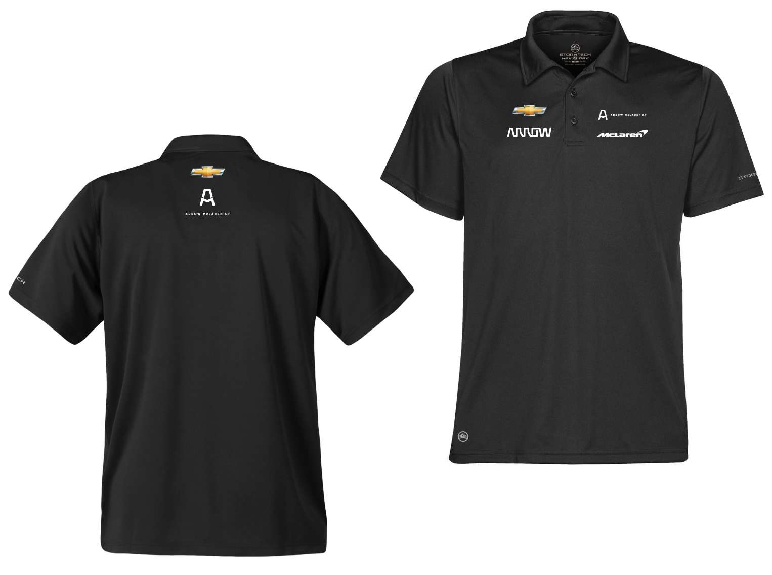 LARGE Men's Official Driver Polo