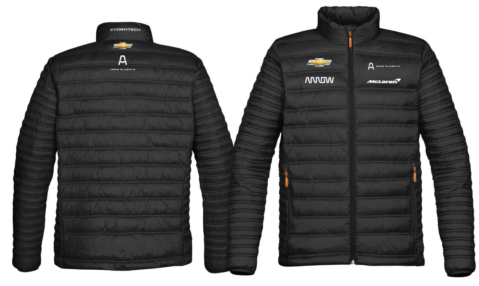 4XL Men's Official Team Puffer Jacket