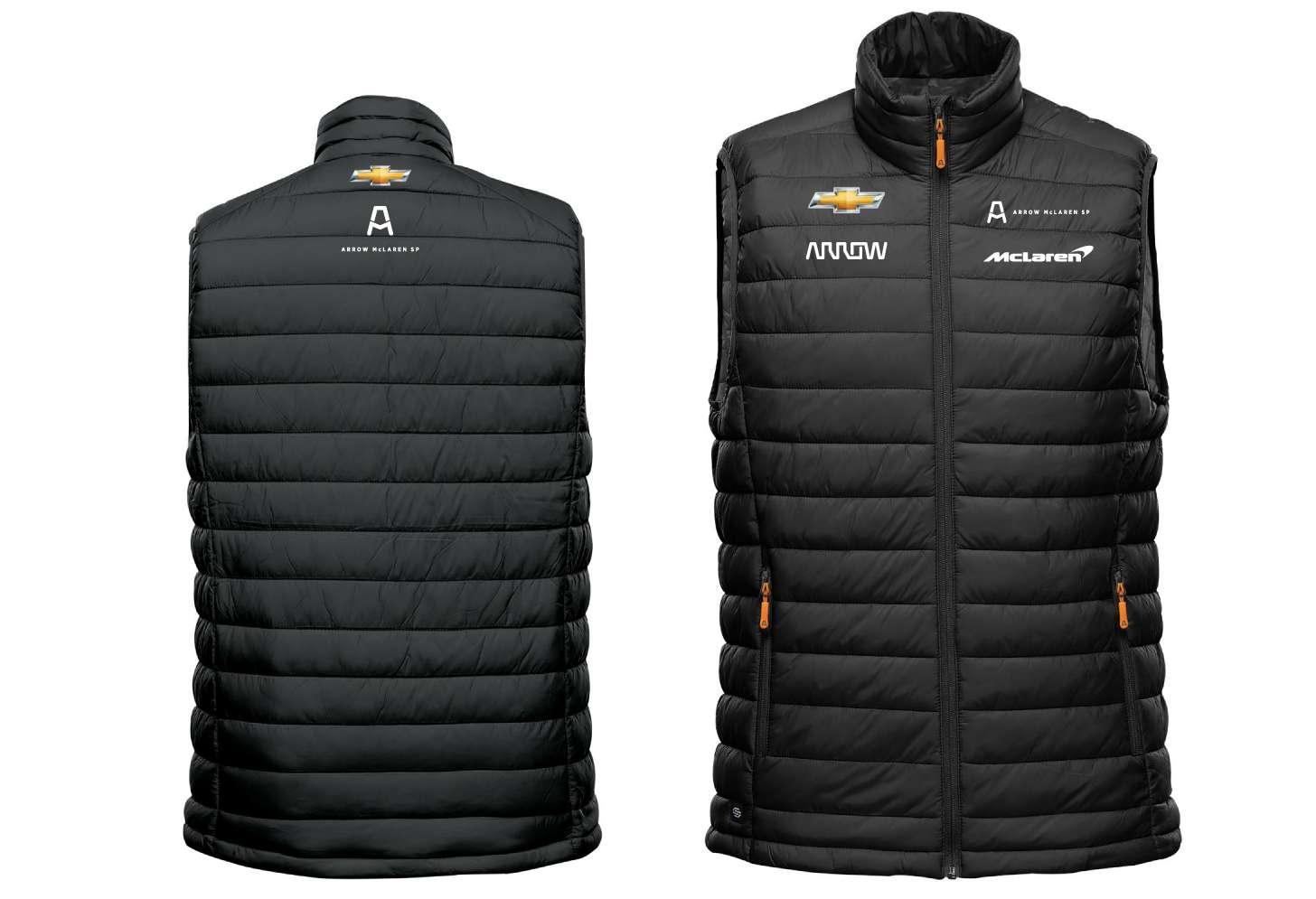 LARGE Men's Official Team Puffer Vest