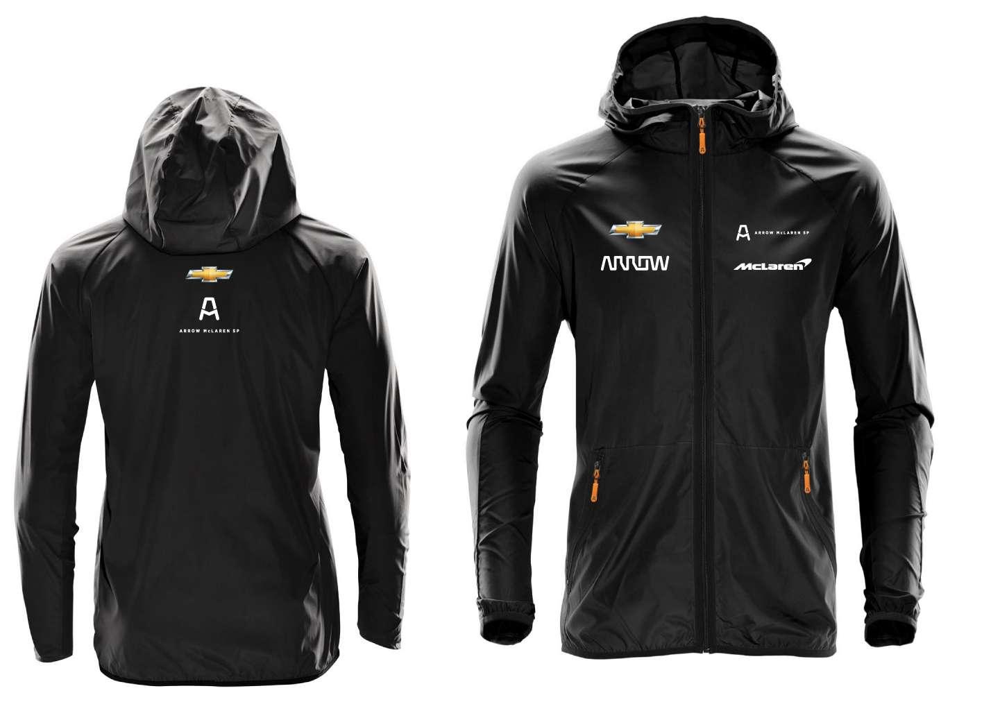 4XL Men's Official Team Rain Jacket