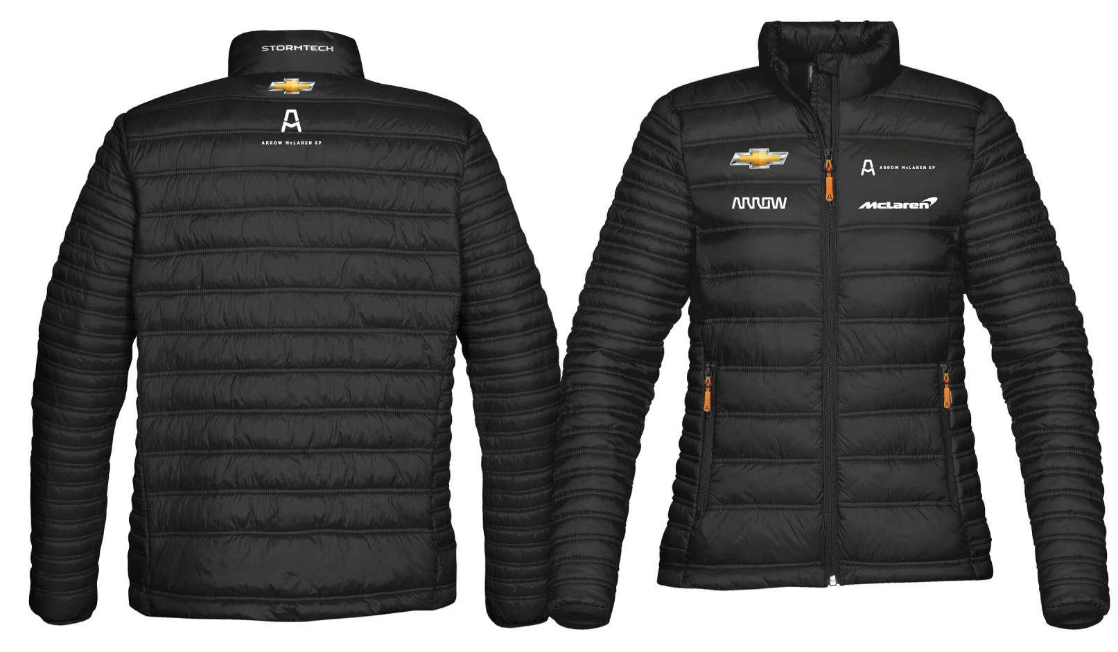 2XL Women's Official Team Puffer Jacket