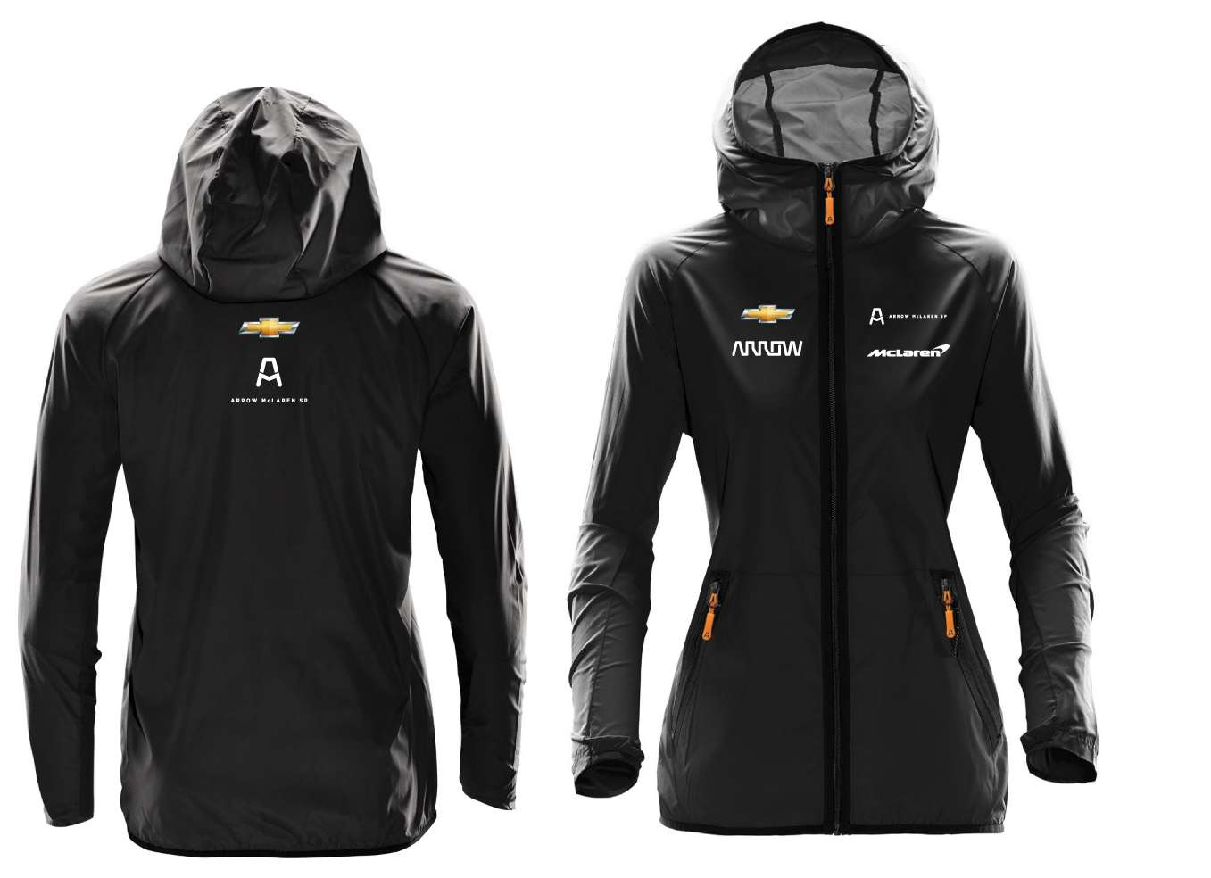 2XL Women's Official Team Rain Jacket